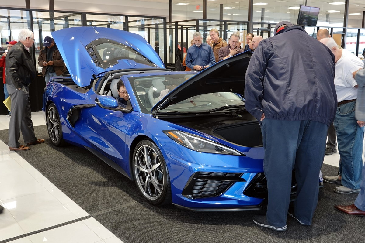 dealer tour at ray huffines chevrolet in plano texas midenginecorvetteforum com ray huffines chevrolet in plano texas