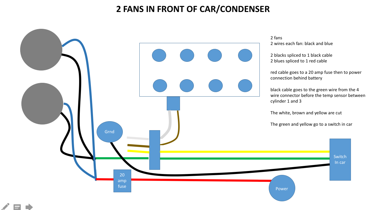 radiator fan diagram corvetteforum chevrolet corvette forum switch but i would like to bring it back to stock can anyone tell me how to do this or how to keep the radiator from not being on all the time
