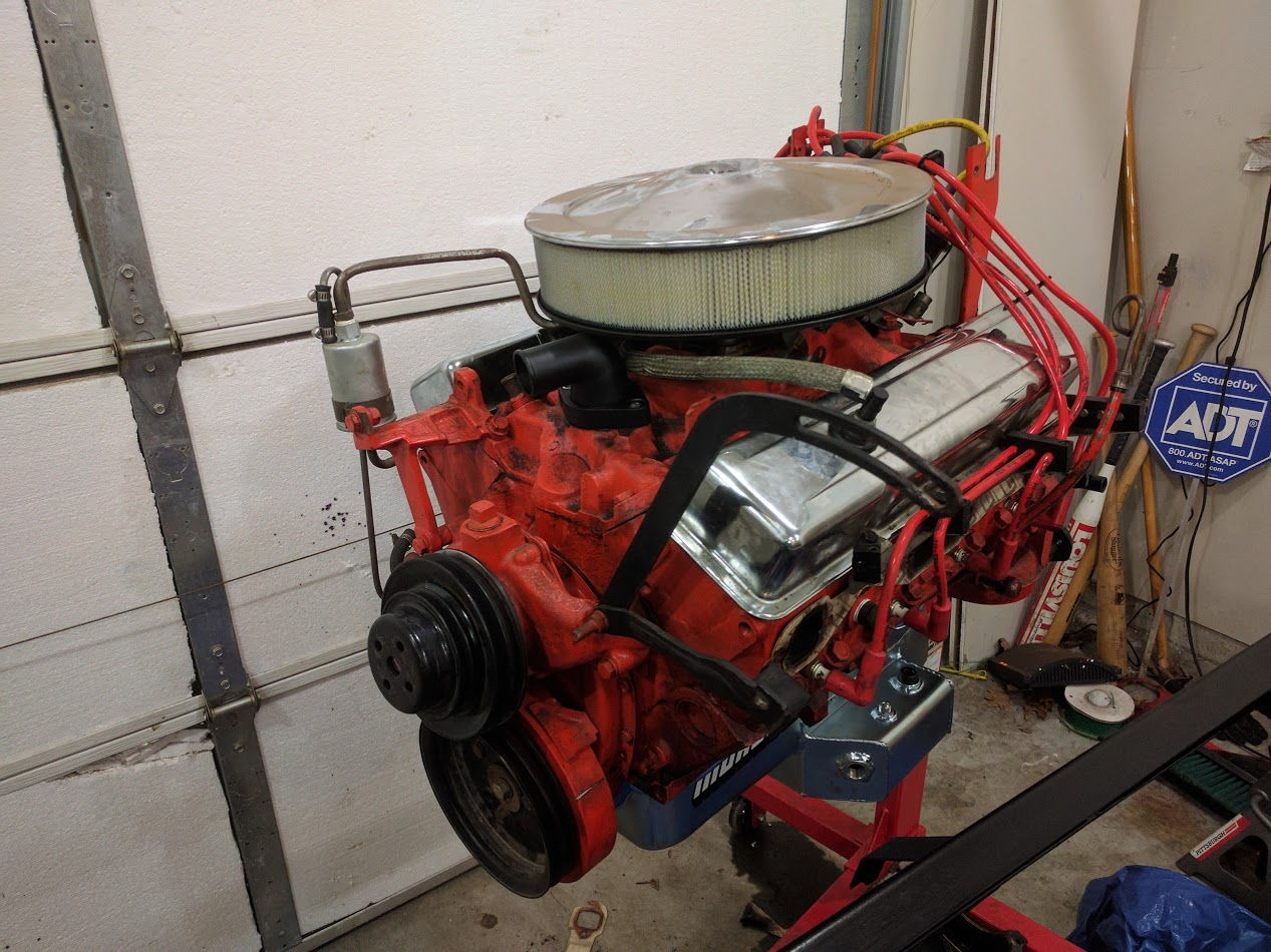 Complete 1969 Corvette 350 Small Block Chevy Engine
