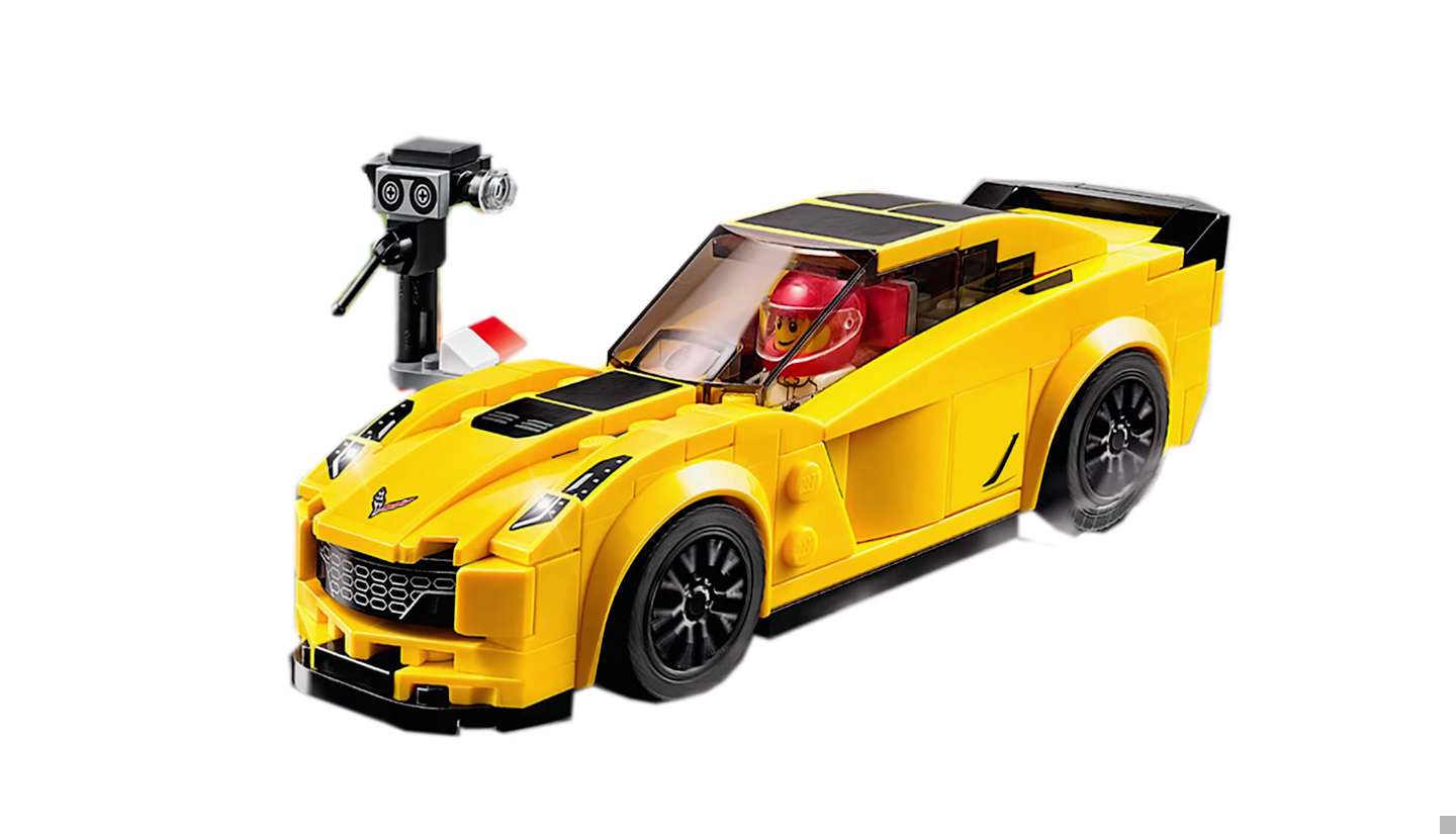 Photos 2016 Lego Speed Champions Corvette C7 Z06