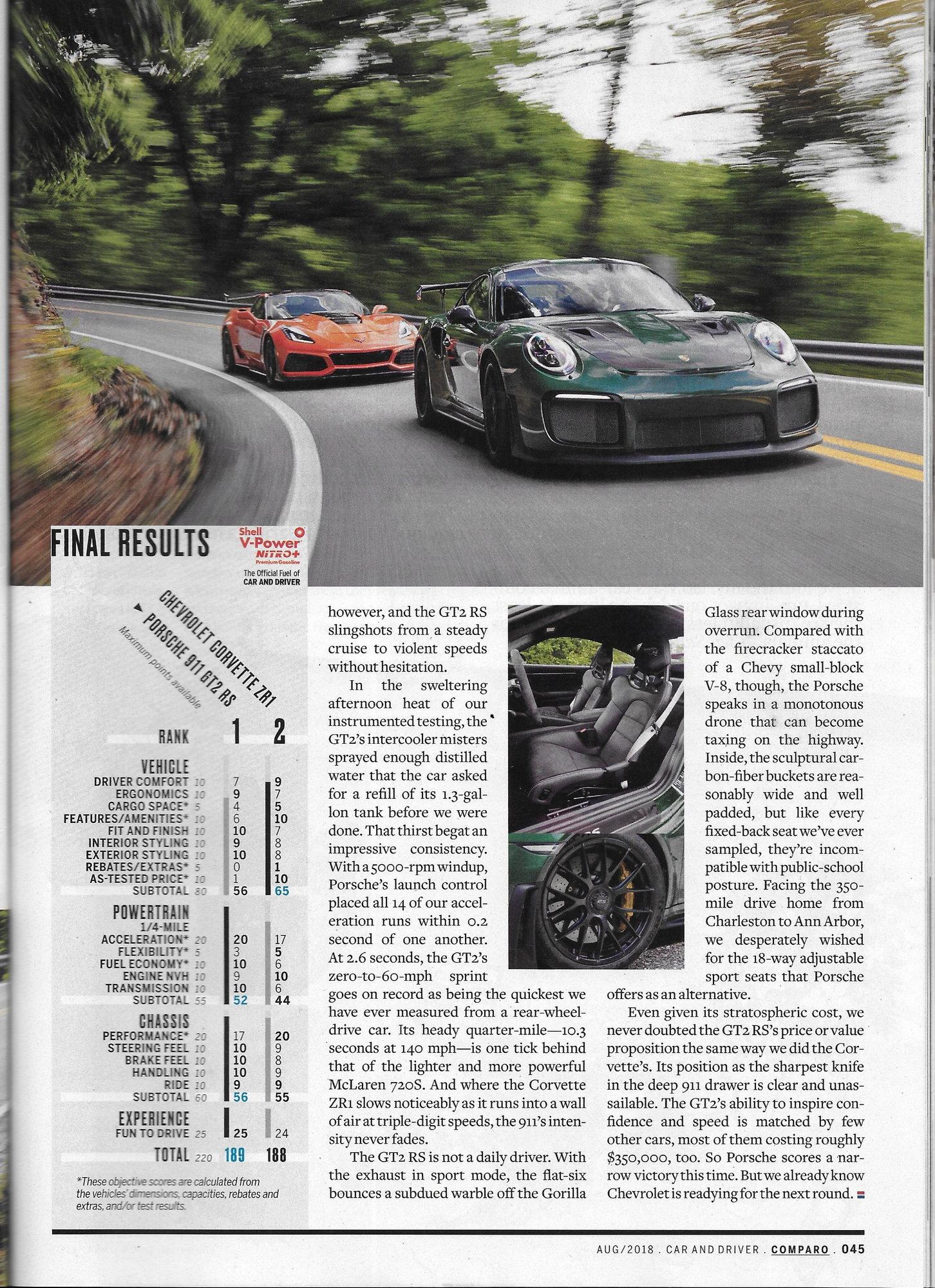 Corvette Zr1 911 Gt2rs Page 4 Corvetteforum Chevrolet