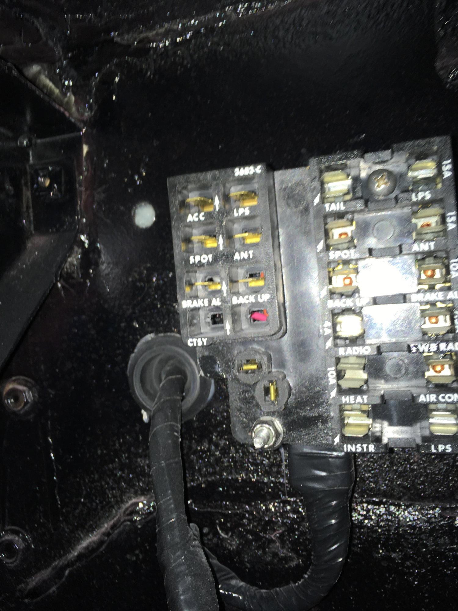 1961 Fuse block spare circuits - CorvetteForum - Chevrolet ...