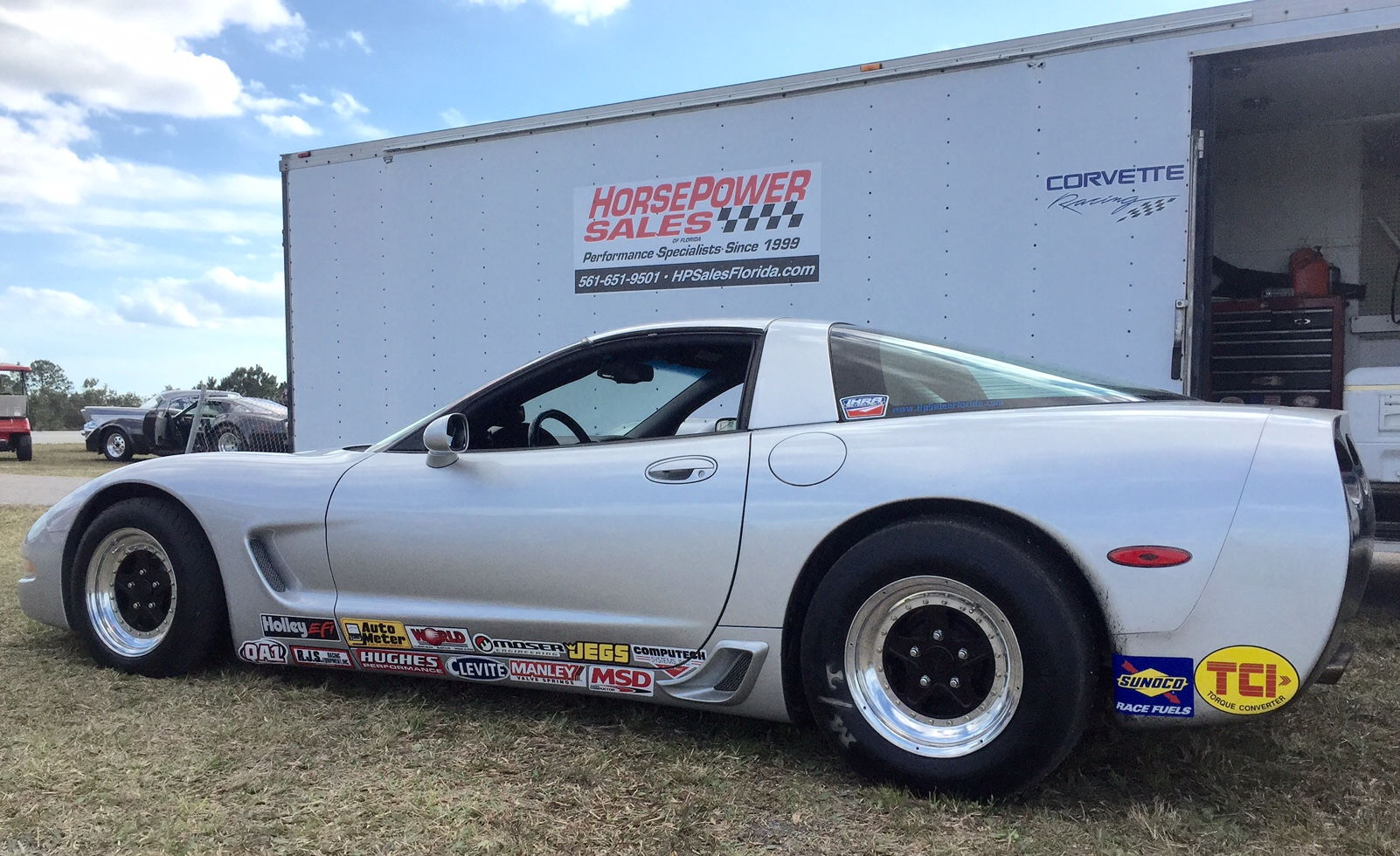 """Aftermarket Chevy Truck Parts C5 C6 Corvette 15"""" Bogart Drag Pack Racing Wheels with ..."""