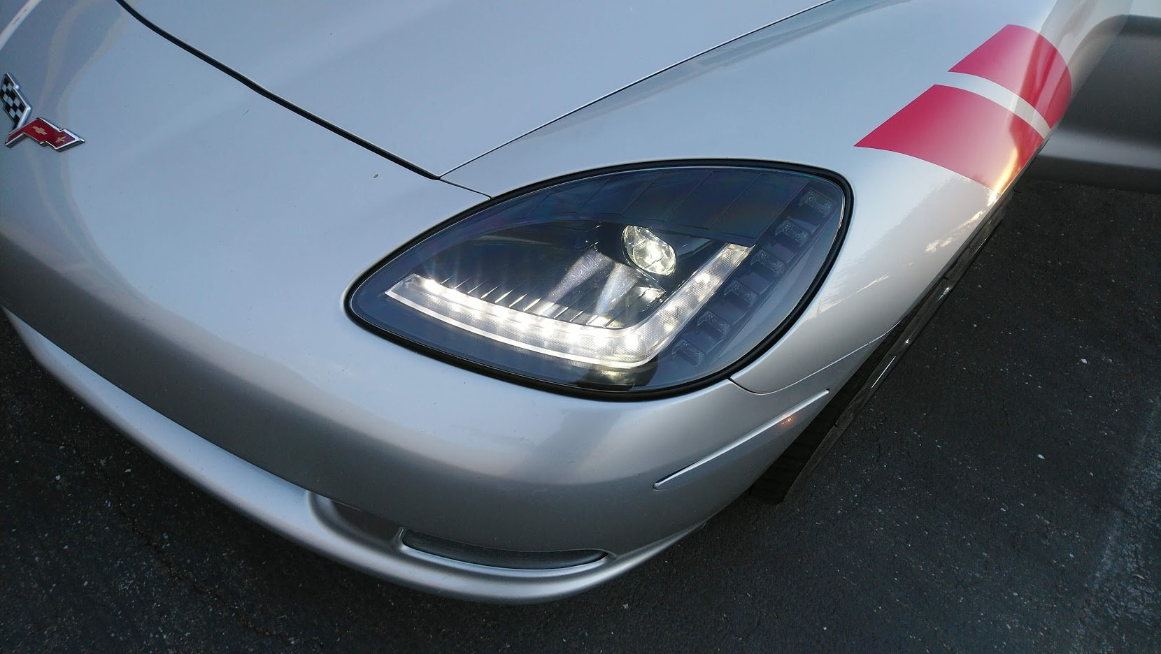 Zen6 C6 Full Bi Led Replacement Headlights C7 Style From Umnitza Headlight Wiring Harness The Assemble Is A Direct Swap They Seem It Fit Well