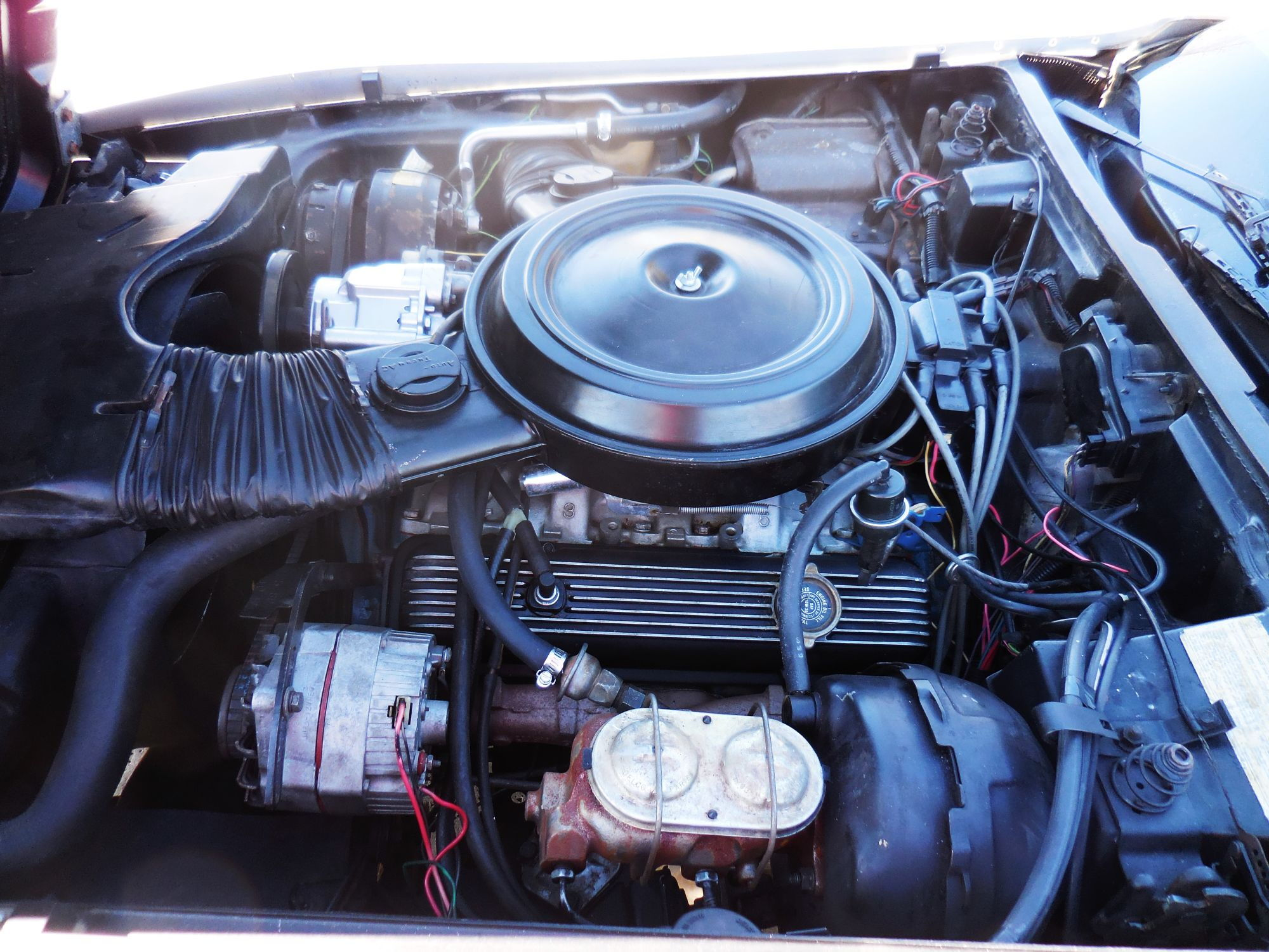 engine decal locations on a 1978 pace car? - CorvetteForum ...