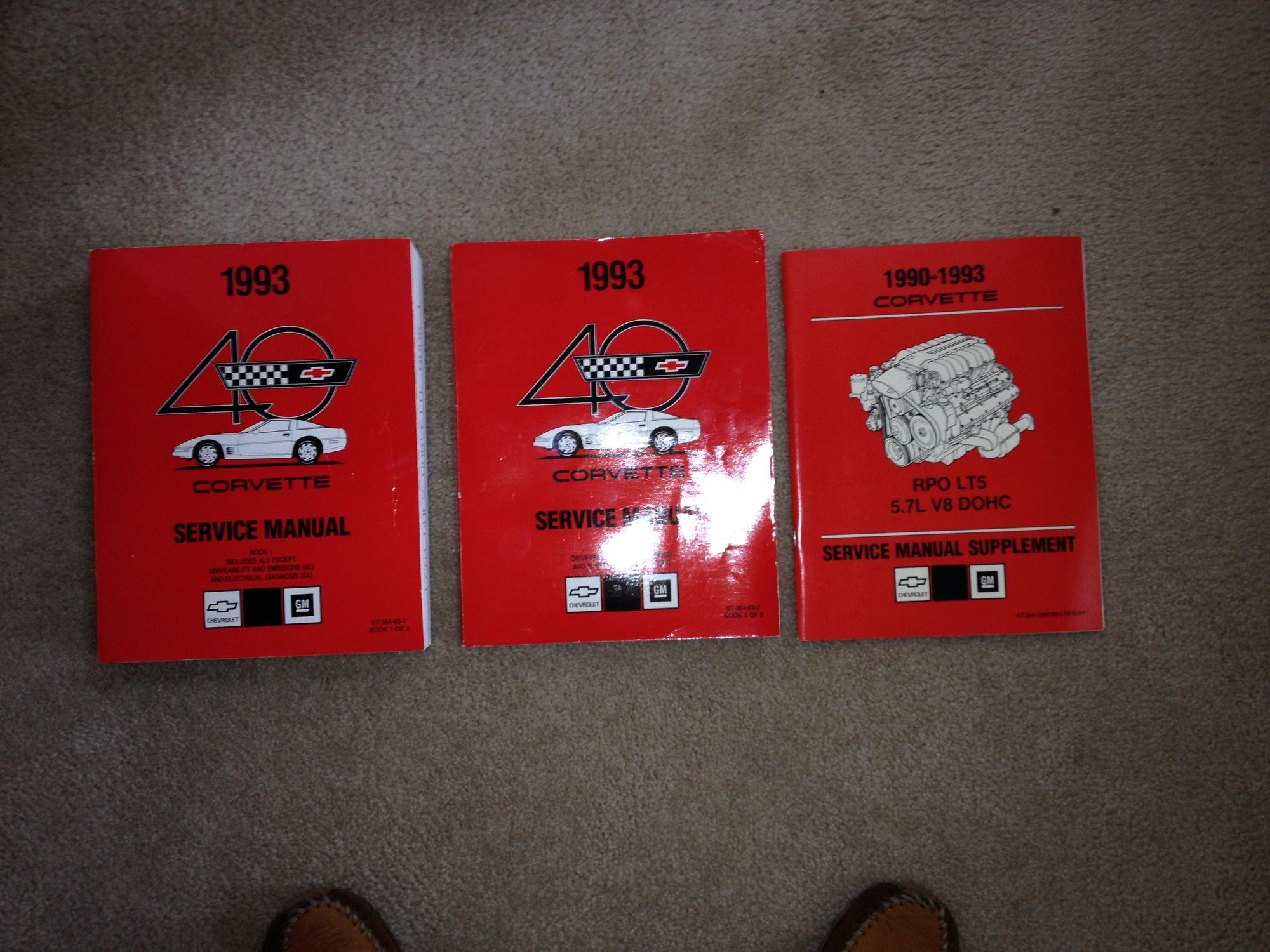 1993 factory service manual corvetteforum chevrolet 95 Corvette 1985 corvette repair manual pdf