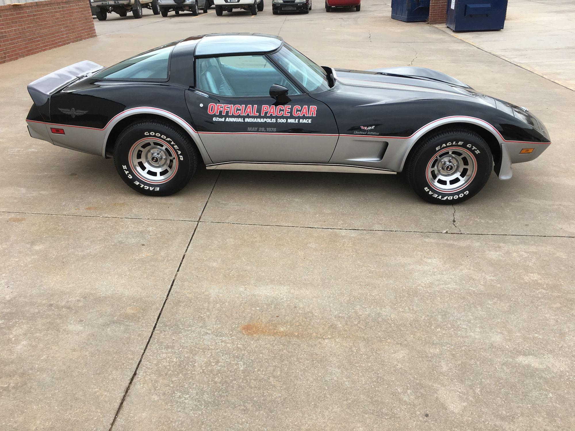 1978 corvette pace car 6140 miles 25k corvetteforum chevrolet corvette forum discussion. Black Bedroom Furniture Sets. Home Design Ideas