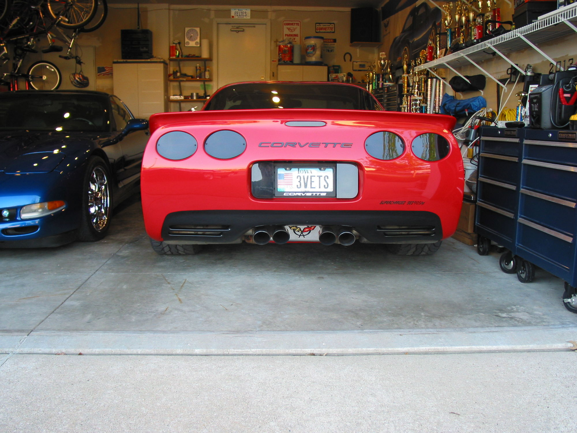 fs '98 red coupe, 383 supercharged 905 hp corvetteforum