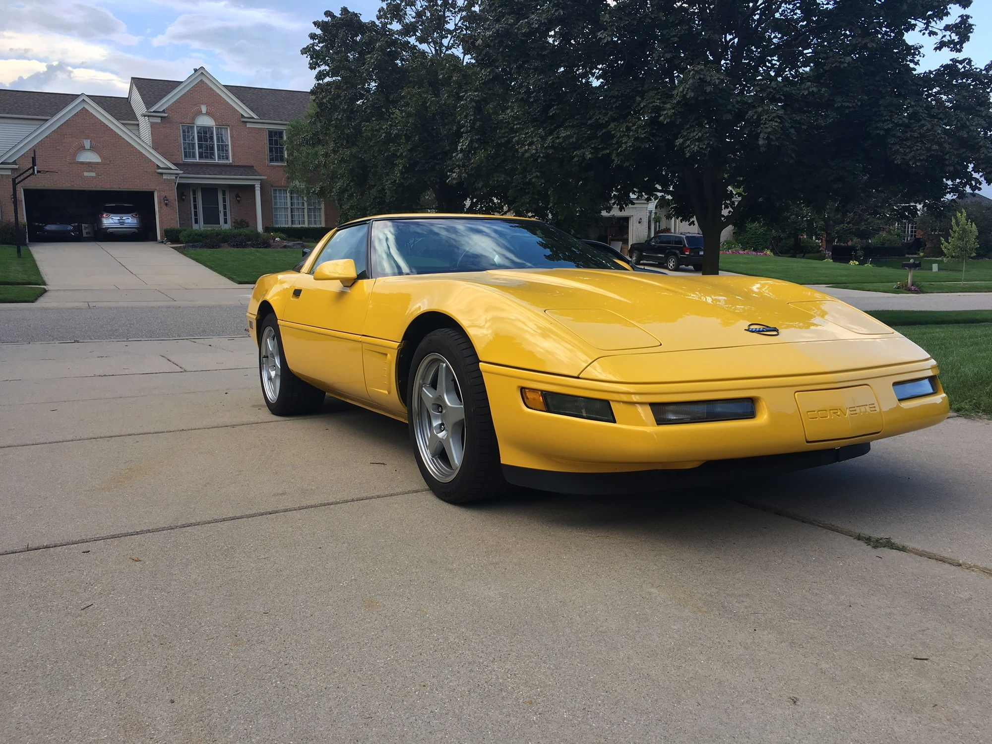 c4 fs for sale 1996 corvette lt4 competition yellow 36 600 miles detroit mi corvette. Black Bedroom Furniture Sets. Home Design Ideas