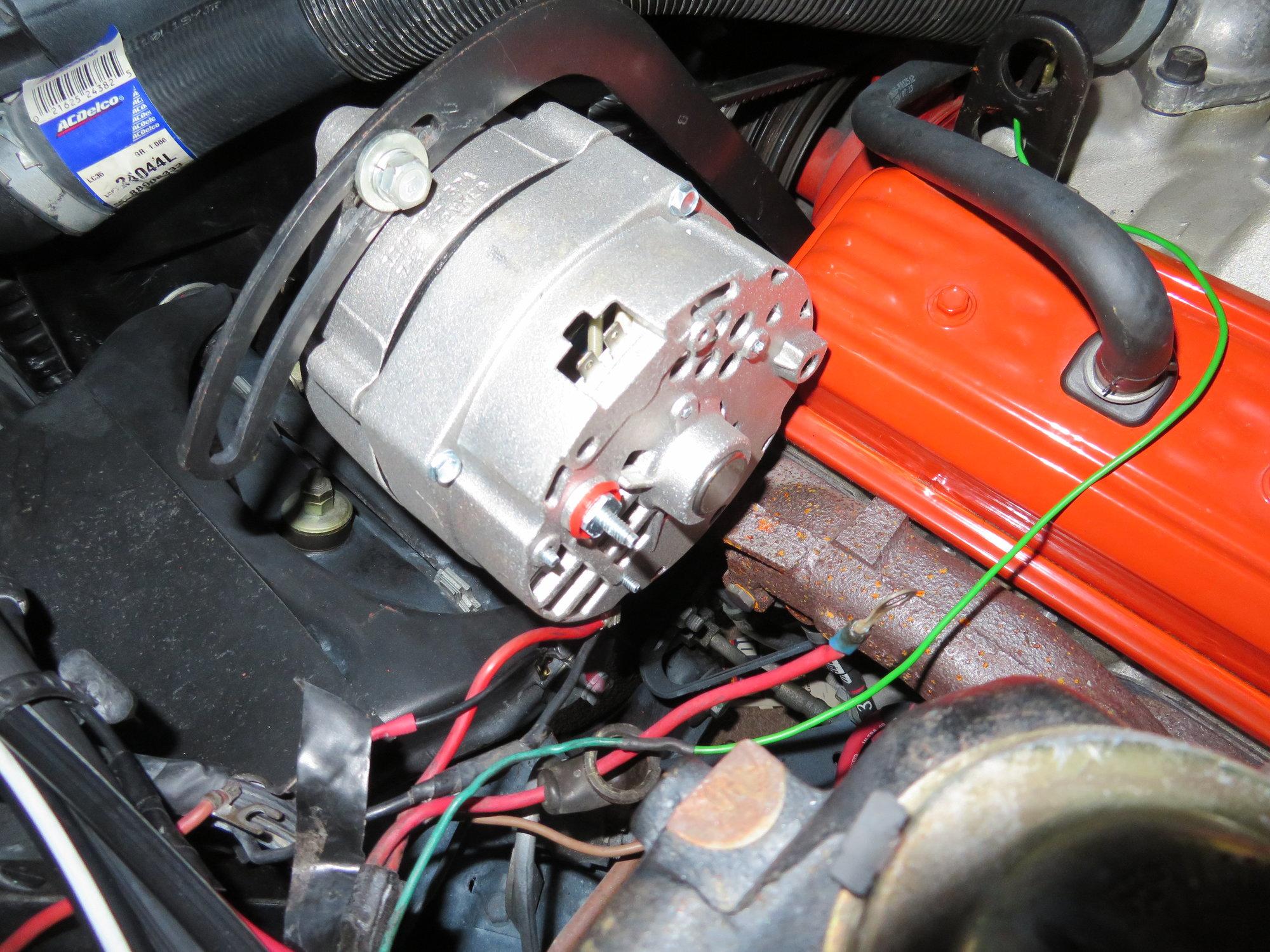 Photo help, C3 (1969) alternator wiring - CorvetteForum ...