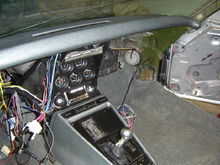 New Dash, console and carpet from Al Knoch.  New Lektric Limited wiring..