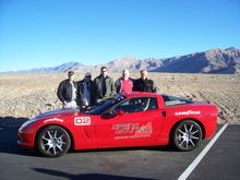 Benny, Roger, Link, Earl, and Ted at Spring Mountain driving school in December '07. Four stellar performers and me.