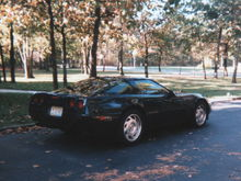 We were a two Corvette family back in the 90's.