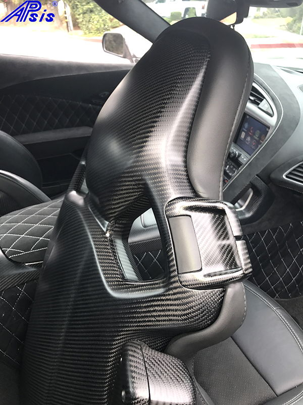 Corvette Car Cover >> *NEW* Apsis: C7 Carbon Competition Seat Back Panel Installed.....pix - CorvetteForum - Chevrolet ...