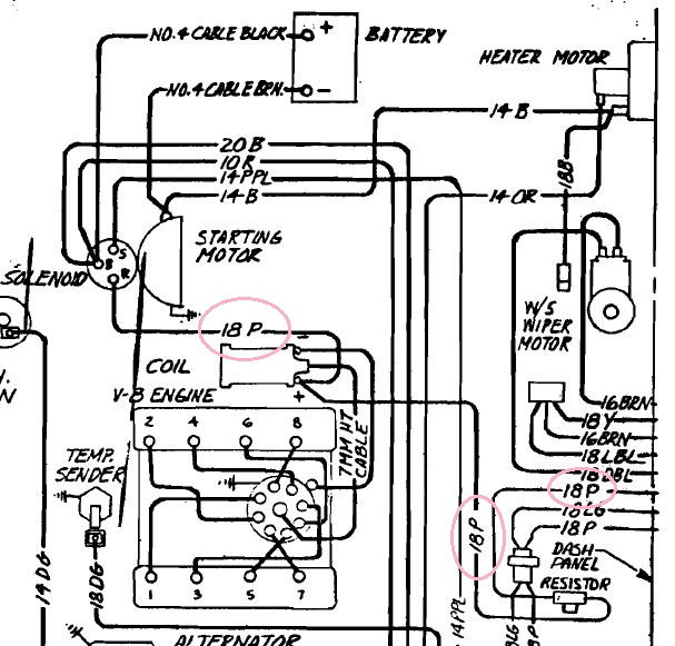 1984 corvette wire diagram