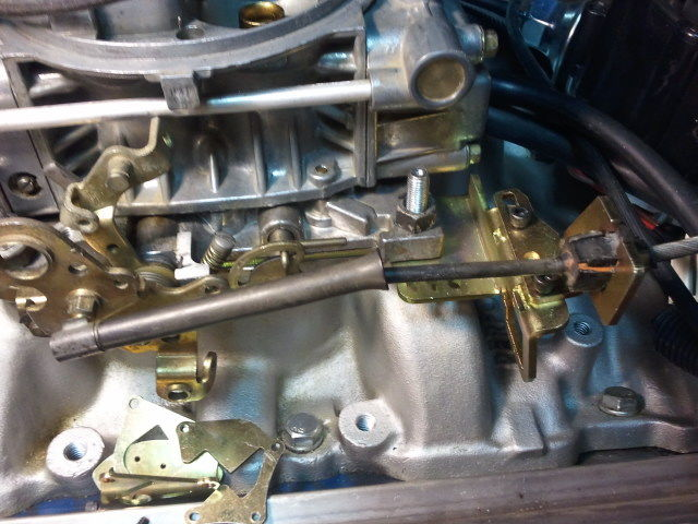 2004 R Kickdown Linkage With Fitech Efi System