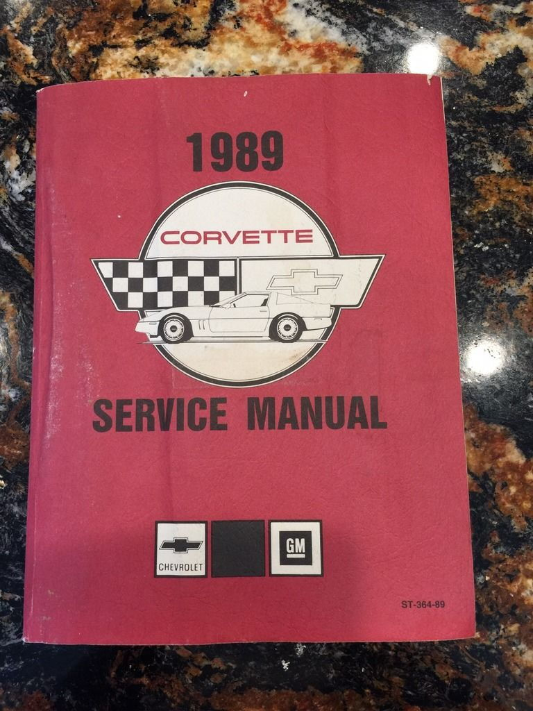 1989 Factory Service Manual, final edition. Pages are in excellent  condition but has water mark on inside of front cover. $50 plus shipping.