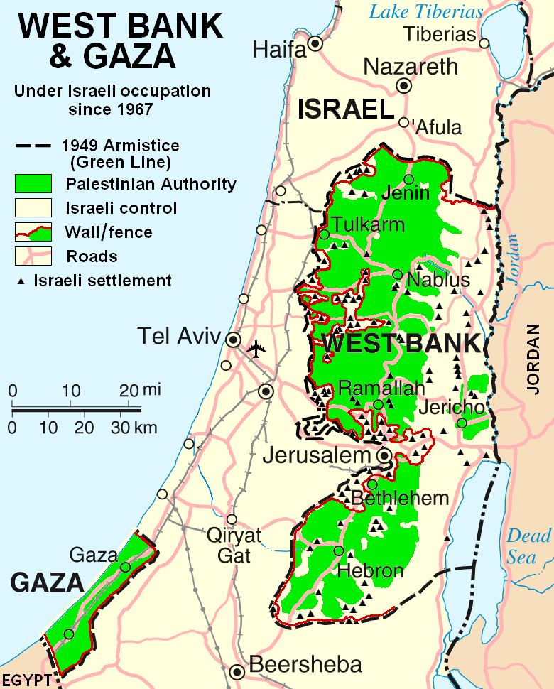 the three state solution to the palestinian and israeli conflict