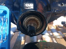 Pinion seal pulled