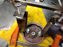 puller popped hub out