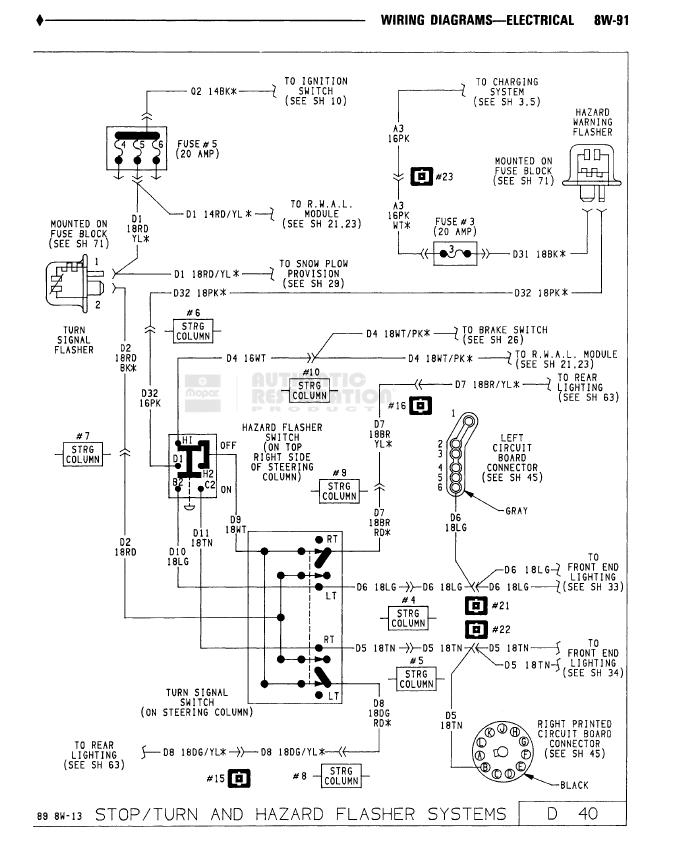 Steering Column Wiring Colors     - Dodge Diesel