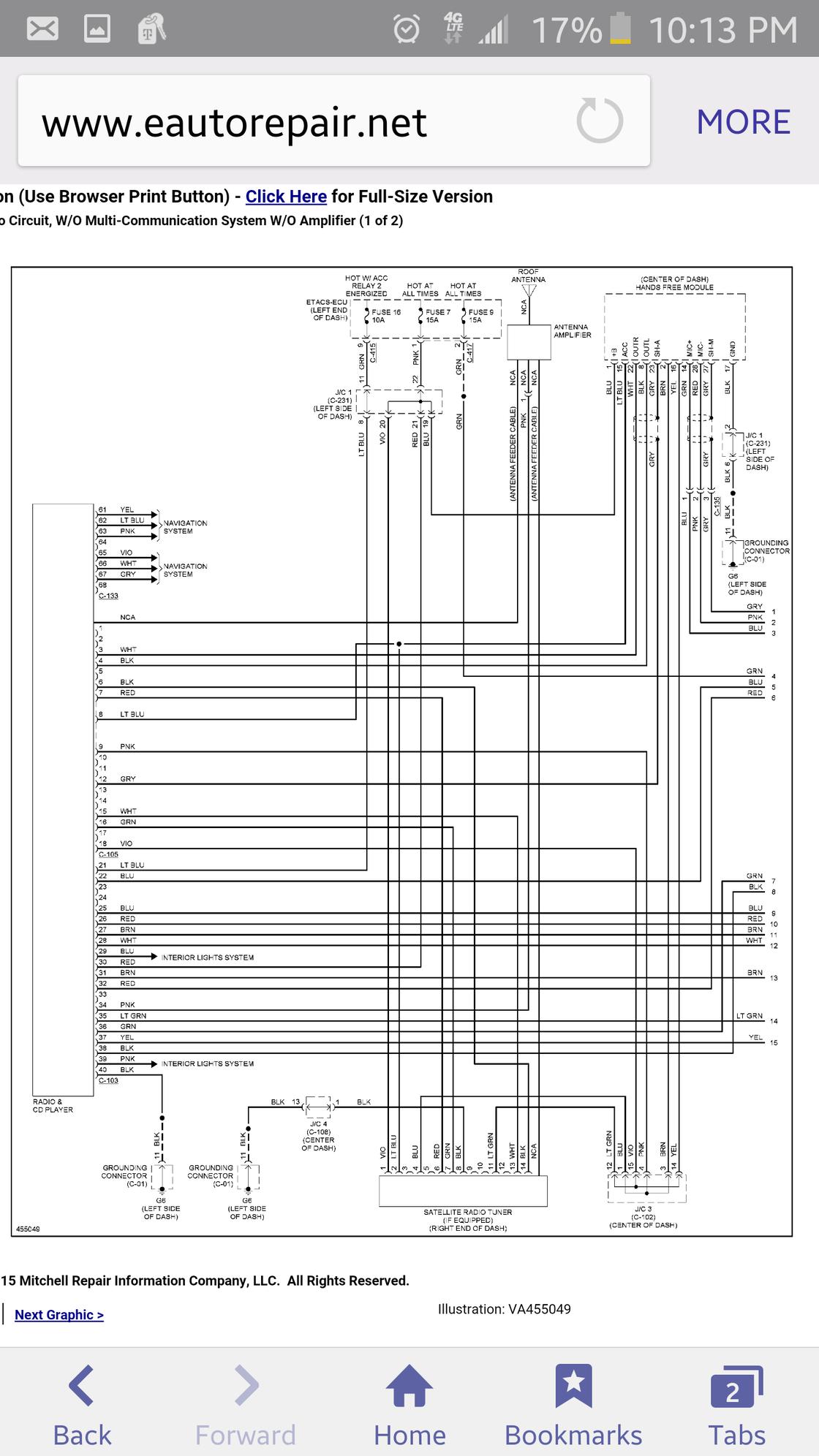 speaker wires color code evolutionm mitsubishi lancer. Black Bedroom Furniture Sets. Home Design Ideas