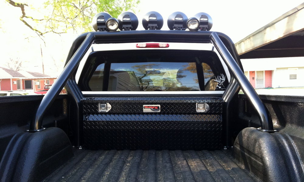 Bed bars ford f150 forum community of ford truck fans the one he had had those old school bed bars with the circular lights on them just like these aloadofball Image collections