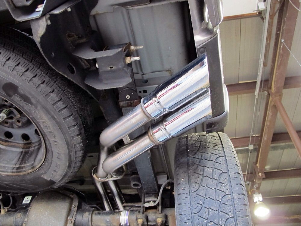 Same Side Dual Exit Exhaust Tips