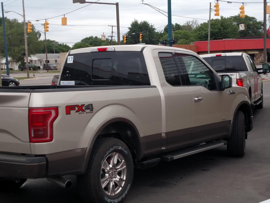 Custom 2018 F 150 >> New Color Pic: White Gold? - Ford F150 Forum - Community of Ford Truck Fans