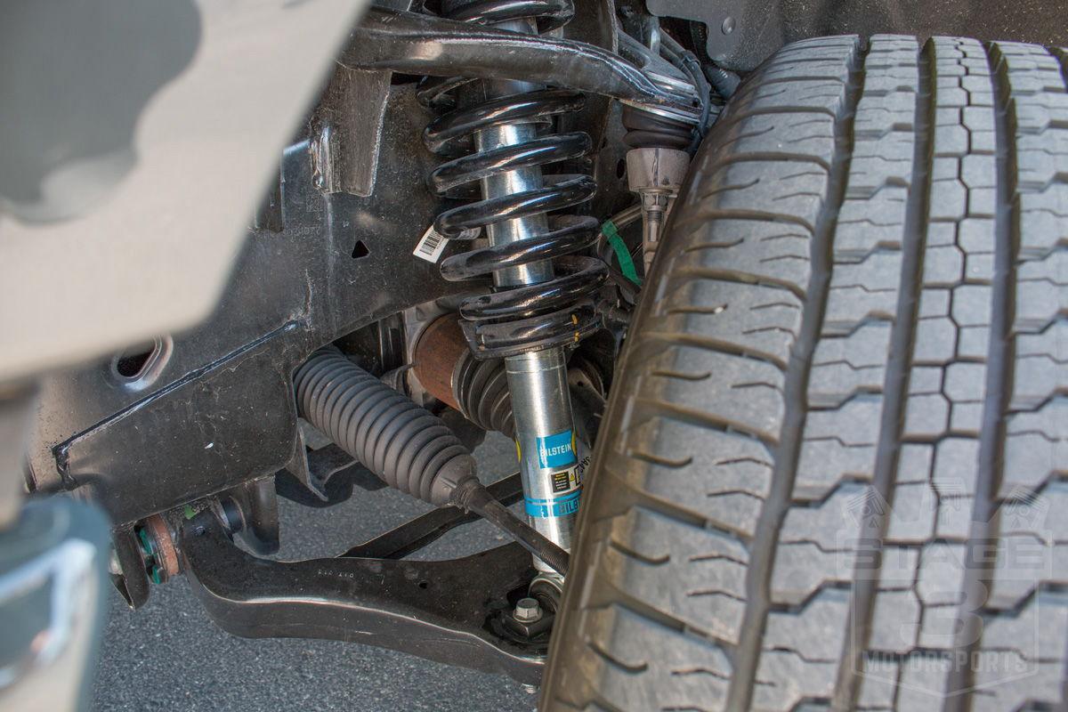 f150 bilstein 5100 shocks front rear strut kit installed struts ford leveling adjustable before suspension truck ride leveled forum assemblies