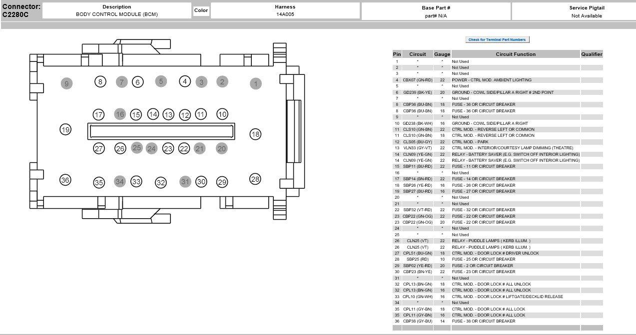 Help Wiring Diagram Or Location - Ford F150 Forum