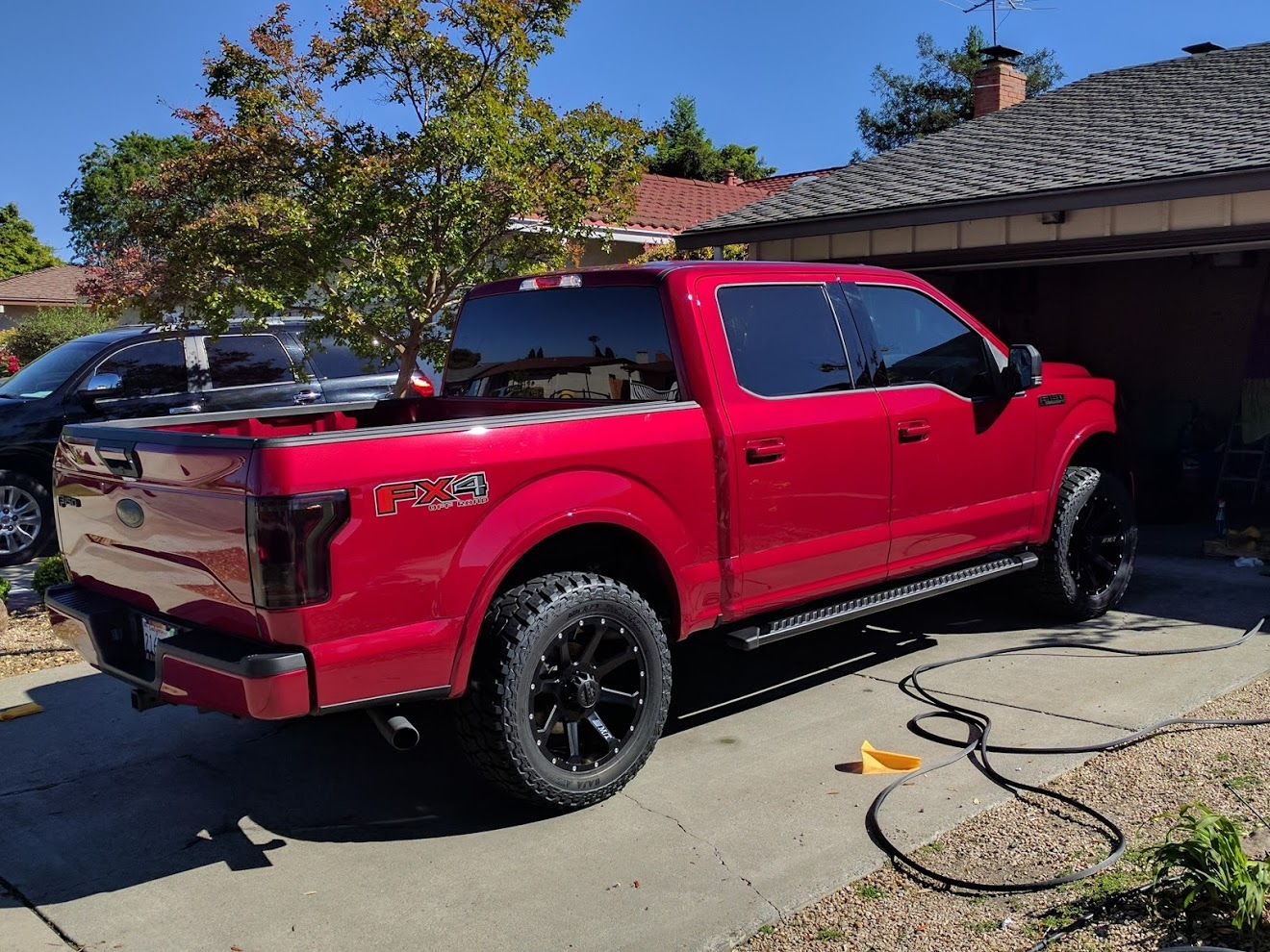 Mickey thompson roush 20x9s just got them put on this weekend br