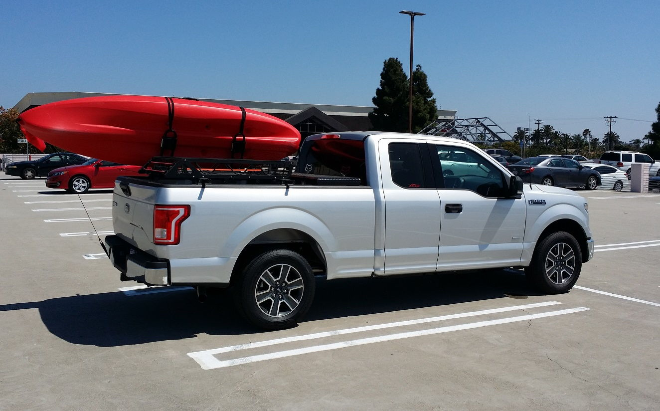 The 6 5 ft bed allows me to have a truck tool box and a bed mounted kayak rack which was critical for my new truck