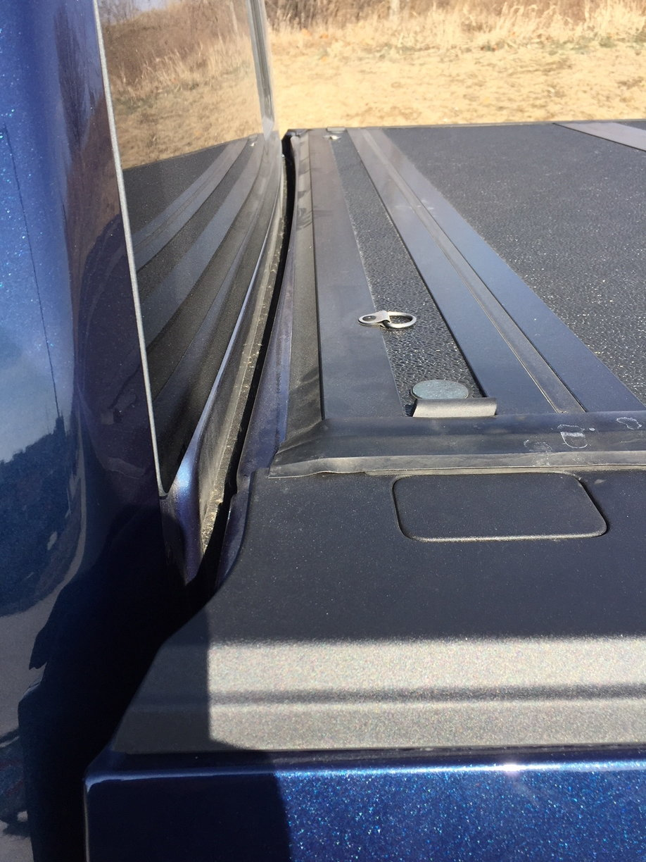 Back Glass Compatibility Ford F150 Forum Community Of Truck 2010 Rear Window Defroster Wiring F150online Forums Possibly Up Front I Might Have To Add A Piece Weatherstripping Across The Bulkhead Or Around Gate Maybe Stake Pockets Too