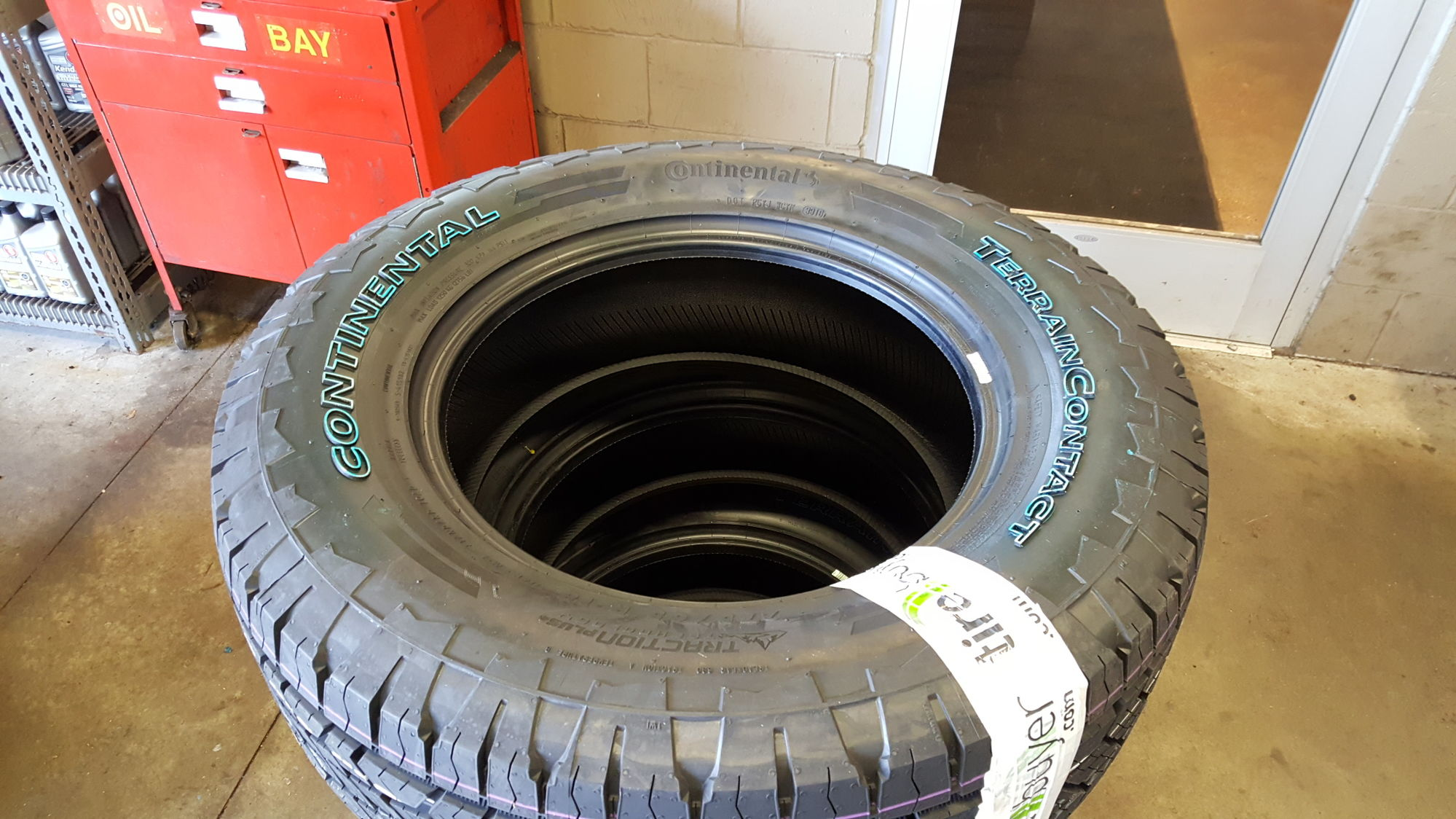 New Shoes: Continental TerrainContact A/T (PICS) - Ford ...