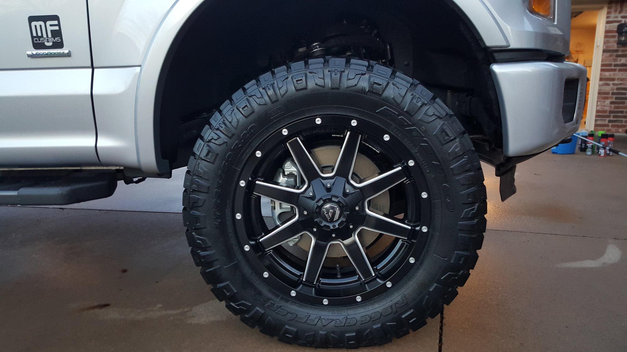 Nitto Ridge Grappler Sizes >> Nitto Ridge Grappler Size Ford F150 Forum Community Of Ford
