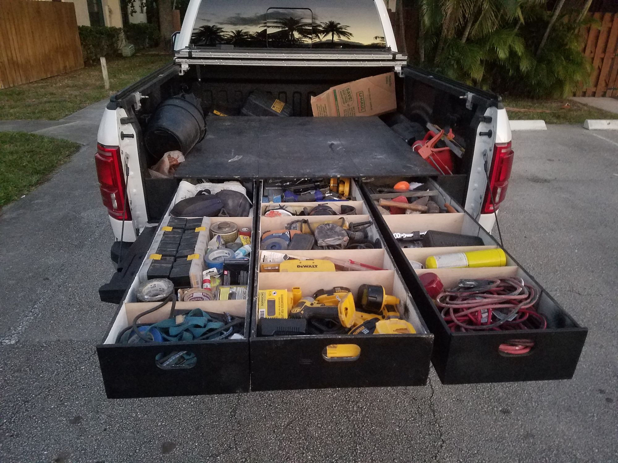 Truck Bed Drawers Thread Show Us Your Drawers Ford F150