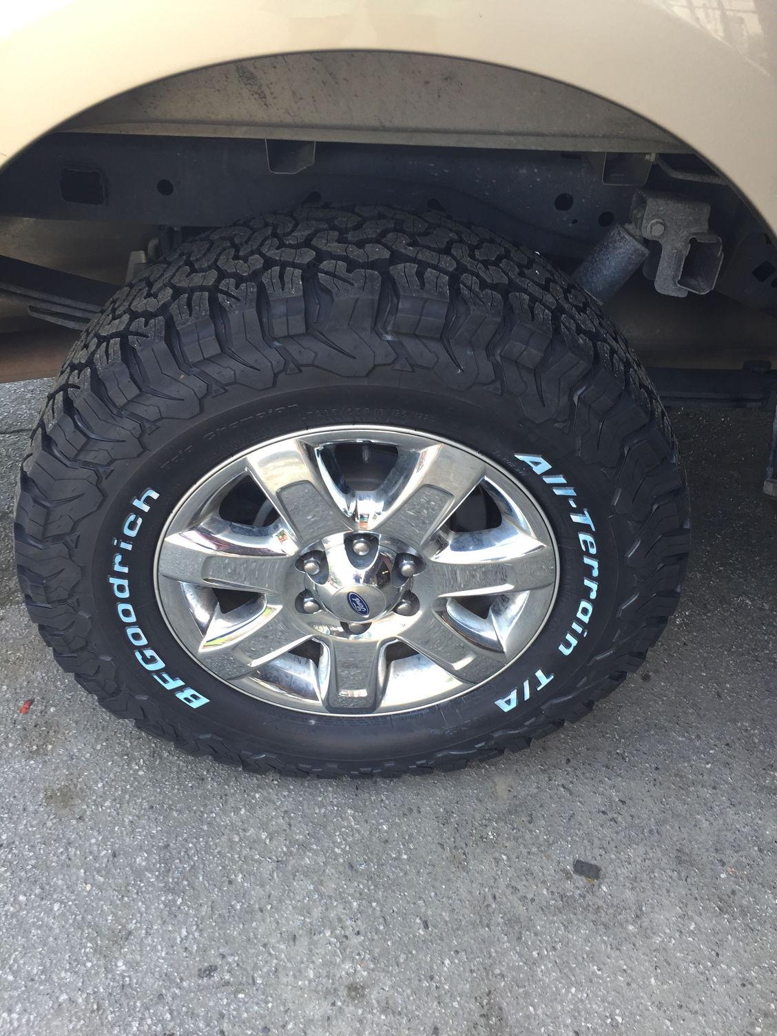 New Tires Bfg Ko2 285 65 18 Ford F150 Forum Community
