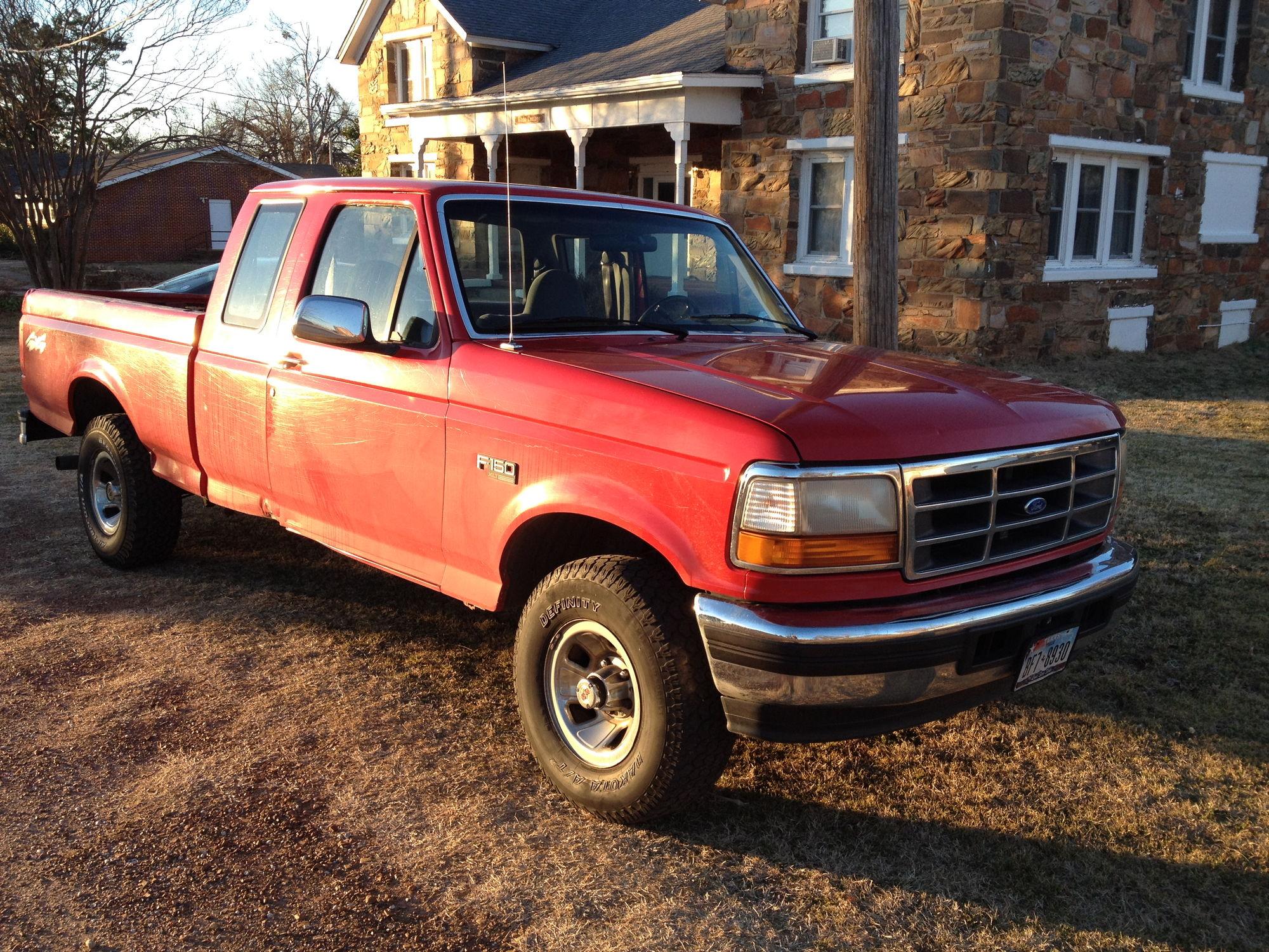 red rocket build 39 96 f150 4x4 ford f150 forum community of ford truck fans. Black Bedroom Furniture Sets. Home Design Ideas