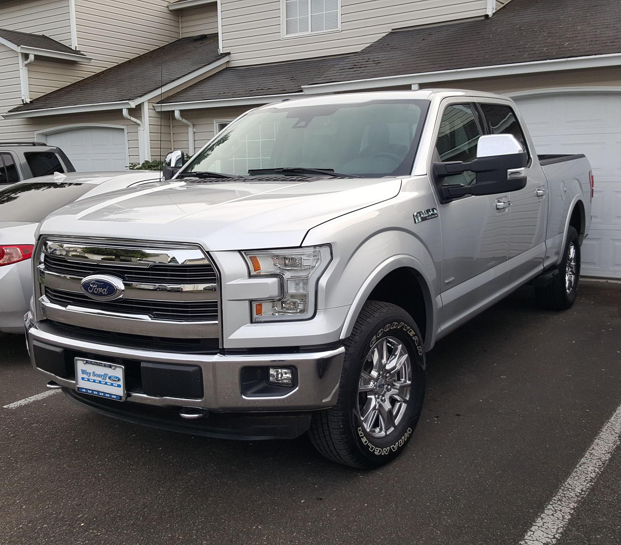 F150 Platinum Platinum: Show Me You Leveled Trucks With OEM Rims!