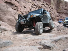 05 tj jeep willys edition