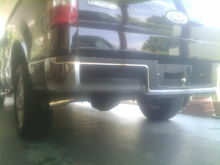 Magnaflow exhaust with gibson tips