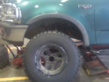"""New 35"""" tires"""