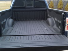 New spray in bed liner
