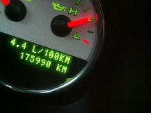 My awesome mileage ;)
