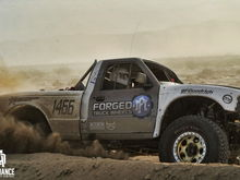 Ford Ranger Racing Through The Terrain