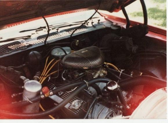 1979 Camaro 400 small block engine shot
