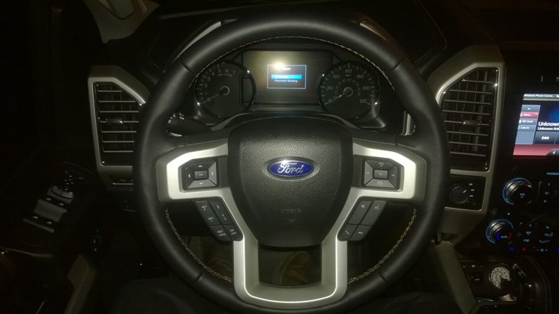 Just Completed The Steering Wheel Upgrade Last Night On My 15 Scab 502a Reference Thread Https Www F150forum F118 Steer Emoval 361944 To
