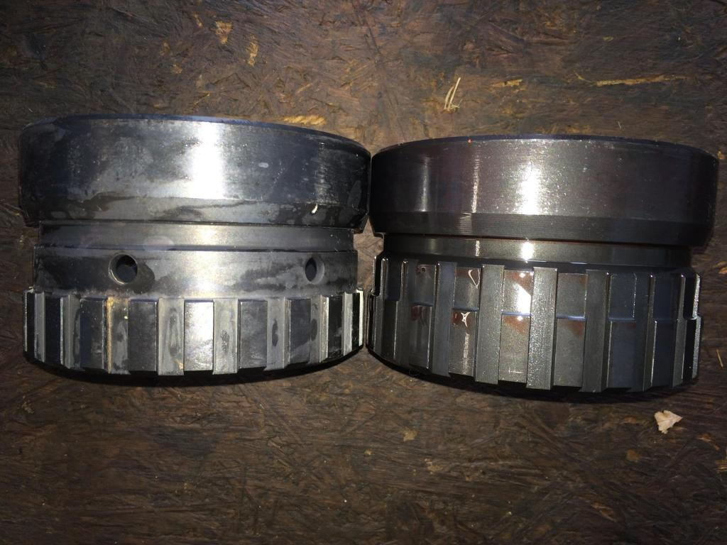 2008 4r75e to 2005 4r75w transmission malfunction o d light