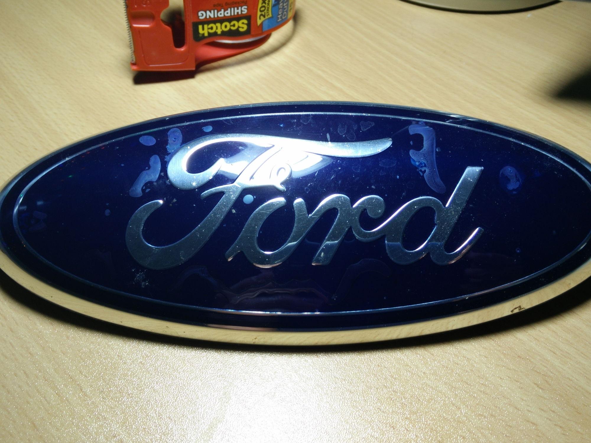 Oem Front Ford Emblem F150online Forums